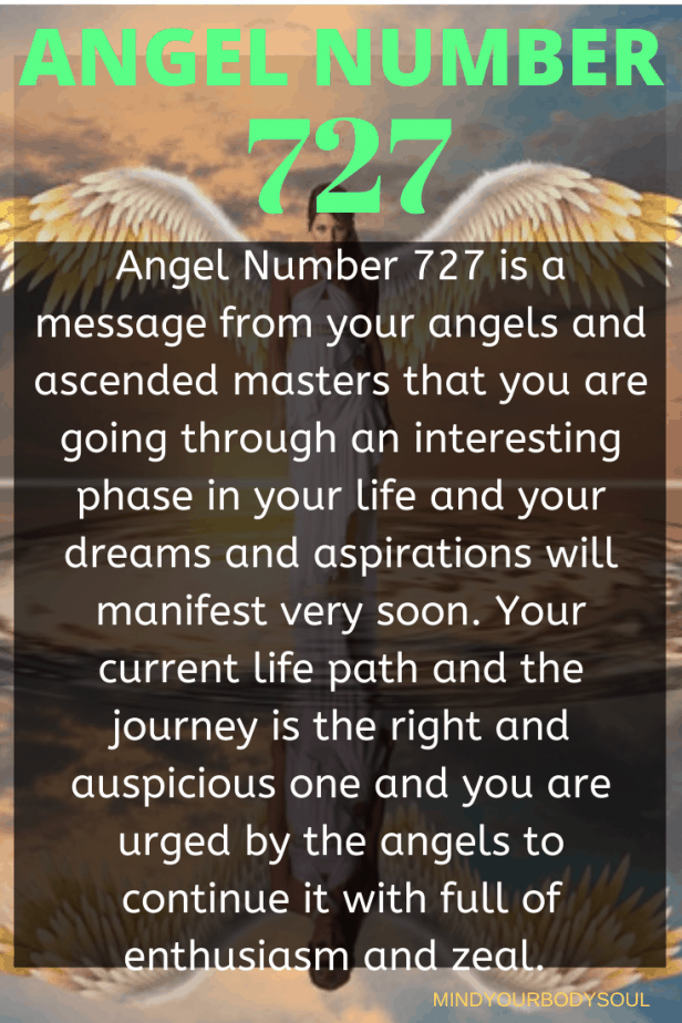 727 Angel Number Meaning And Symbolism