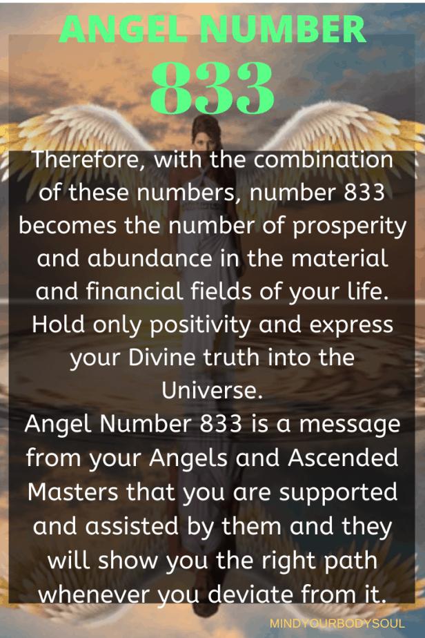 833 Angel Number