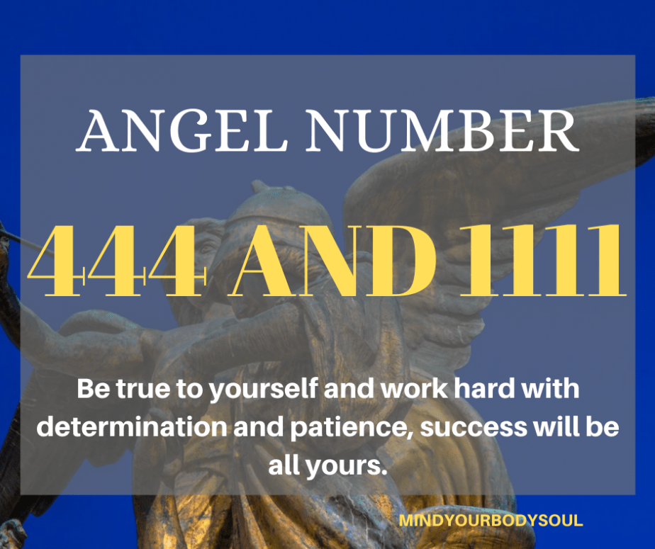 Angel Number 444 And 1111 Meaning
