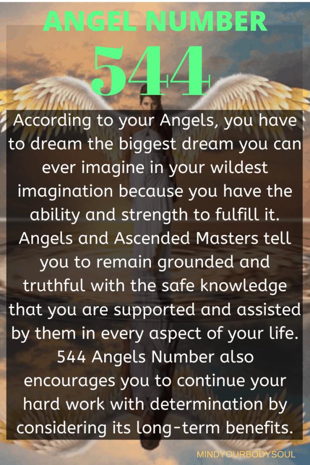 544 Angel Number
