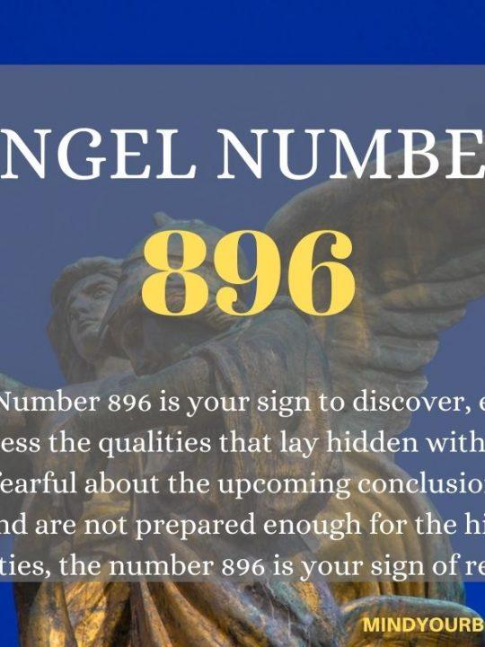 896 Angel Number