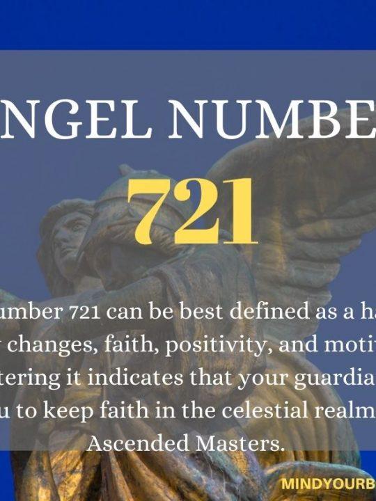 721 Angel Number