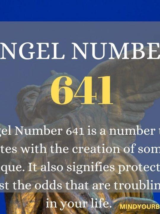 641 Angel Number