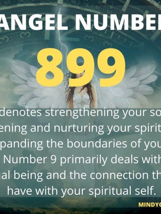 899 Angel Number