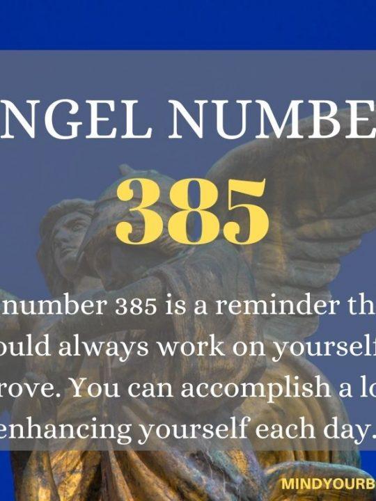 385 Angel Number