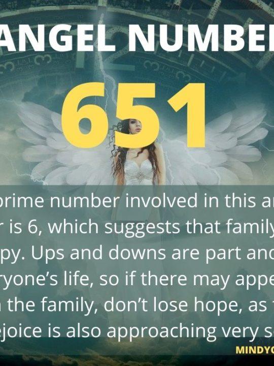 651 Angel Number