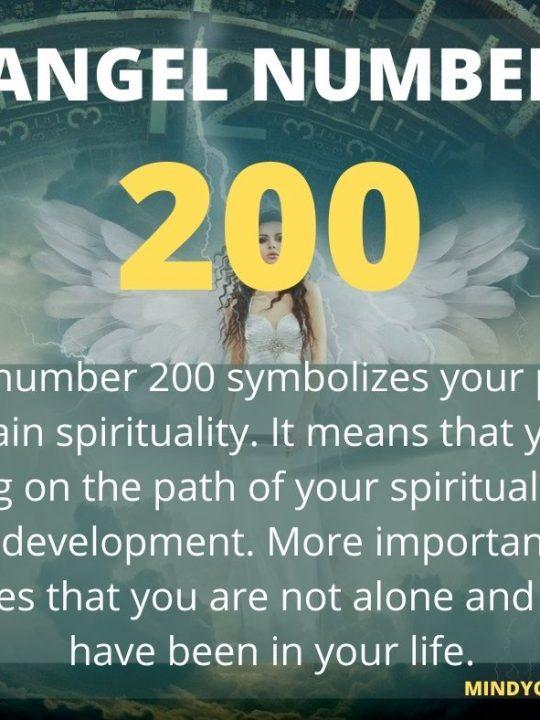 200 Angel Number