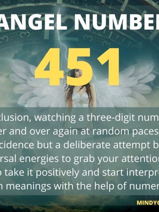 451 Angel Number