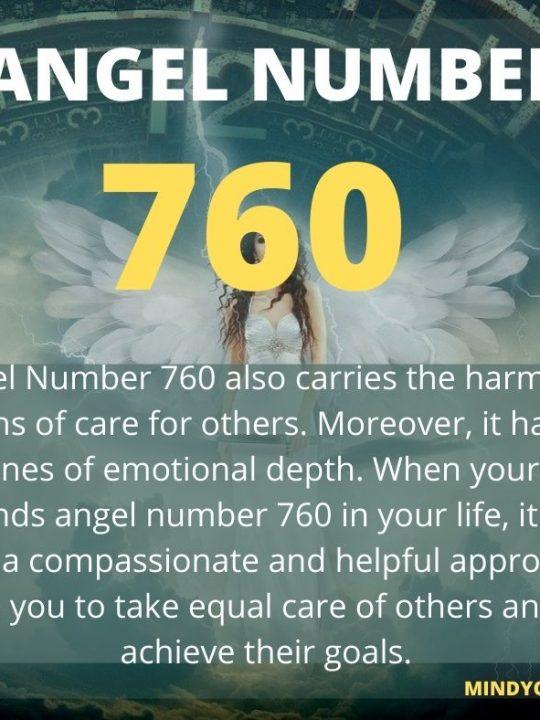 760 Angel Number