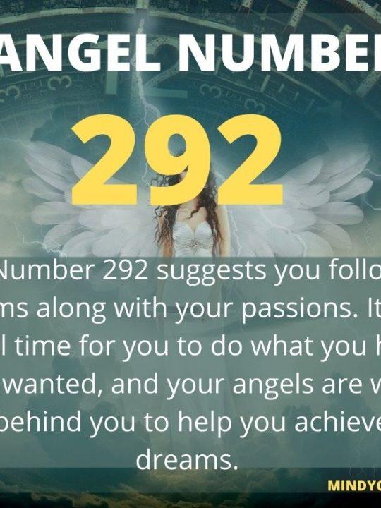 292 Angel Number