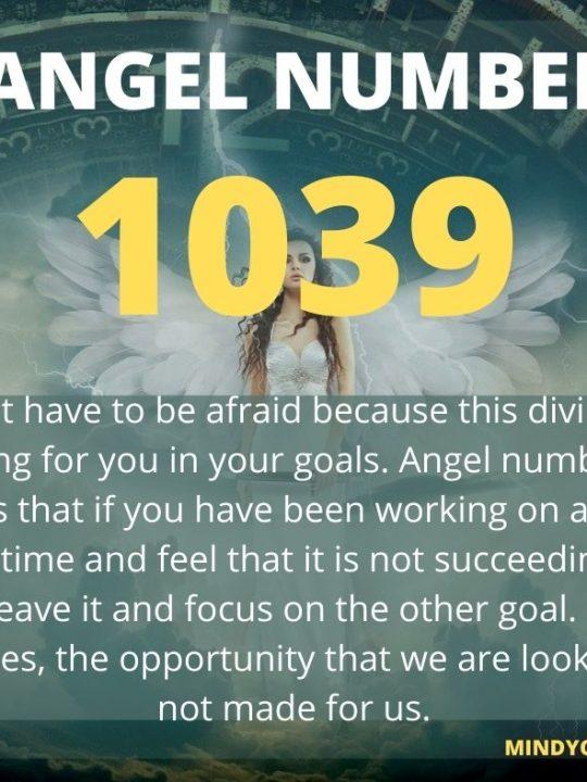 1039 Angel Number